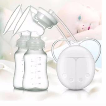 Tickle RH228 Mother Manual Double Electric Breast Pump (White)