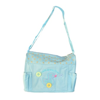 Tickle TMN-003 Cutie Diaper Baby Bag Duck Design (Blue)
