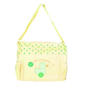 Tickle TMN-003 Cutie Diaper Baby Bag Duck Design (Yellow)
