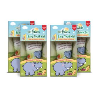 Tiny Buds Kiddie Toothgel Stage1 Set of 4