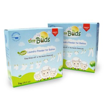 Tiny Buds Laundry Powder 1kg Set of 2 (Blue)