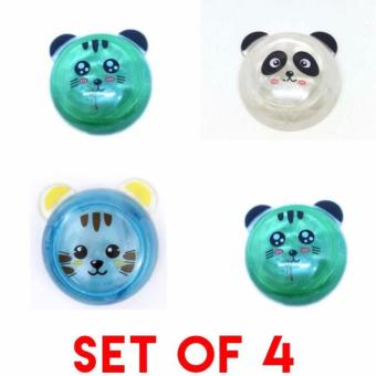 Tiny Panda JELLY SLIME toys SET OF 4