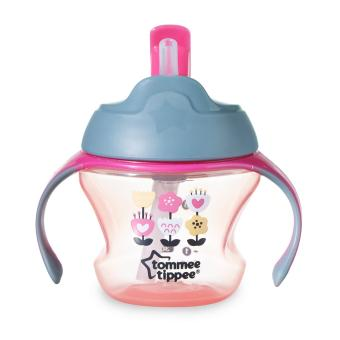 Tommee Tippee Training 1st straw cup (pink) - 2