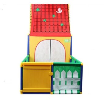 Toy Collection Sunny House Playhouse (Multicolor)