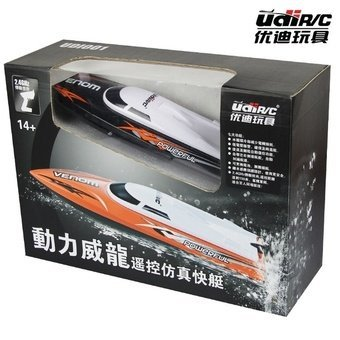 Toy gifts for boys kids 2.4G Mini rc toy boat super power vesselsremote control racing speed model ship motorboat UDI shatterproofanti-capsize launch Price Philippines