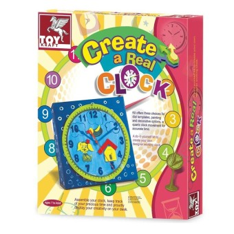 Toy Kraft Create A Real Clock Paper Craft - picture 2