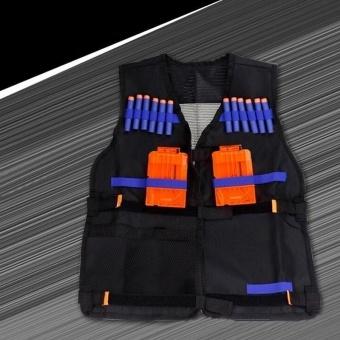 TOY Tactical Vest w/Storage Pocket Pockets for Nerf N-Strike Elite Gifts For Kids - intl - 5