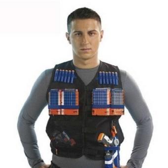 TOY Tactical Vest w/Storage Pocket Pockets for Nerf N-Strike Elite Gifts For Kids - intl - 4