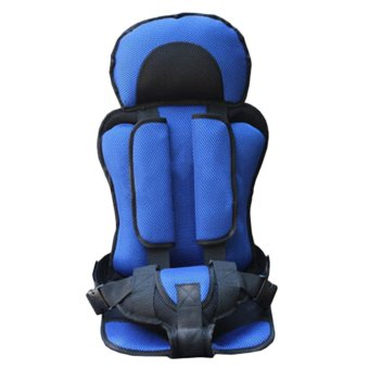 Trendy New Soft Safety Kids Car Seat For Child Baby PortableCarrier Seat (blue) Price Philippines