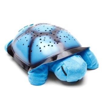 Turtle Night Sky Constellations (Blue)