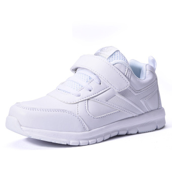 Uiui Korean-style white New style big kid white shoes men children's shoes