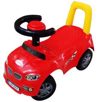 Ultralite Kids Cute Ride-on Car with Beep Sound and Backrest