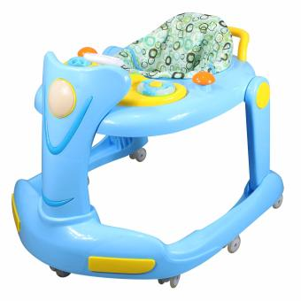 Unique Style Baby Musical and Light Baby Walker MMW-898 (Blue)