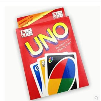UNO Card 108 English Fun Cards Game for Family