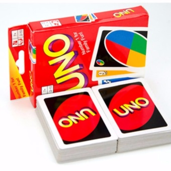 UNO Card Game 108 Fun Cards