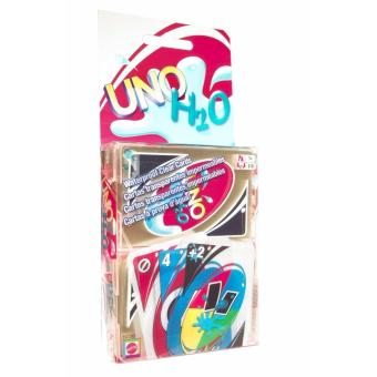 UNO Card Game Plastic Water proof H2O Uno Cards for Family Games Price Philippines