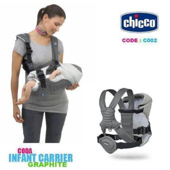 UrbanLatest Chicco Carrier Baby Carrier (Gray)