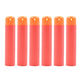 Velishy Refill Bullet Darts for Nerf N-Strike Elite Mega Centurion Red 30Pcs