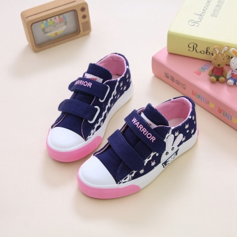 Warrior Korean-style female big kid shoes children's shoes