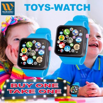 WAWAWEI Kids Children Early Learning Machines Touch Screen SmartWatch Toys buy 1 take 1