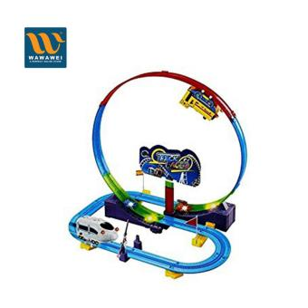 Wawawei New Amazing Racing Car Rail Car Electric Track BatteryPowered Track Racer #9913A