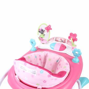Weeler Bows and Butterflies Baby Musical Walker (Pink) - 4