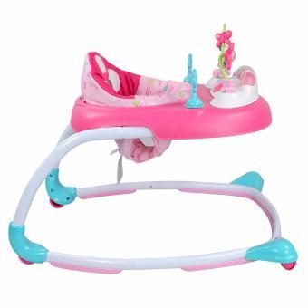 Weeler Bows and Butterflies Baby Musical Walker (Pink) - 3