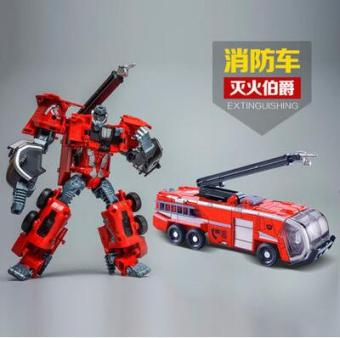 Wei jiang fire warrior ambulance crane