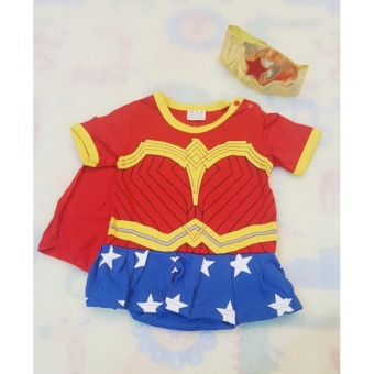 Wonder woman Baby Costume (1-2 years old)