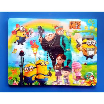 Wooden Jigsaw Puzzle Board Minions - Educational Toy for Kids