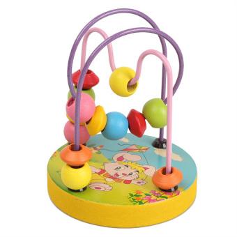 Wooden Mini Around Beads Educational Toy
