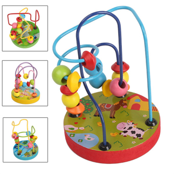 Wooden Mini Around Beads Educational Toy - picture 2