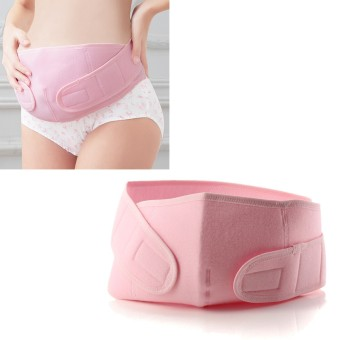 XL Maternity Back Support Belt Band Abdomen Pregnancy Belly Tummy Brace Waist New Pink