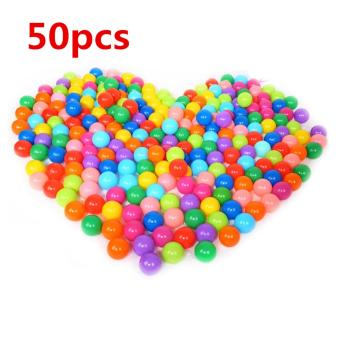 YBC 50Pcs Colorful Ball Ocean Balls Soft Plastic Ocean Ball BabyKid Swim Pit Toy Price Philippines
