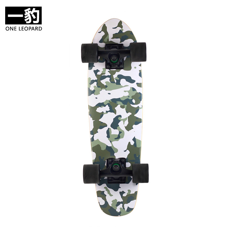 a7e2366c3a05a6 Yibao Feng Mu four wheel skateboard fish Board