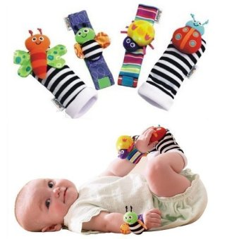 Yingwei Socks Hand Wrist Set for Baby Multicolor