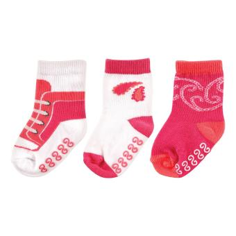 Yoga Sprout Girls Non-Skid Socks 3 Pieces for 12-24 Months Old Price Philippines