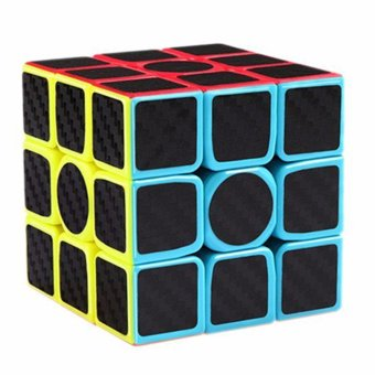 Z-Cube 3x3 Carbon Fiber Speed Magic Rubik's Cube