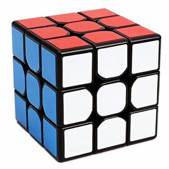 Z-Cube 3x3 Magnetic Speed Magic Rubik's Cube Black - 2