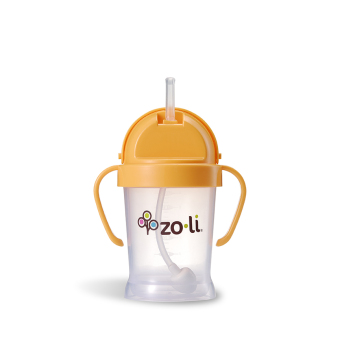 Zoli Bot Straw Sippy Cup 180 ml (Orange) - picture 2