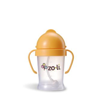 Zoli Bot Straw Sippy Cup 180 ml (Orange)