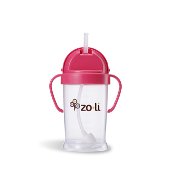Zoli Bot XL Straw Sippy Cup 270 ml (Pink) - picture 2