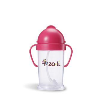Zoli Bot XL Straw Sippy Cup 270 ml (Pink)