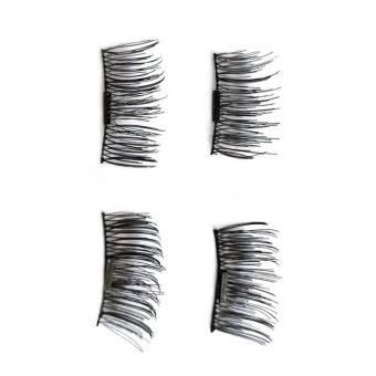 1 Pair/ 4Pcs 3D Magnetic False Eyelashes Natural Makeup Beauty Accessories - intl - 2