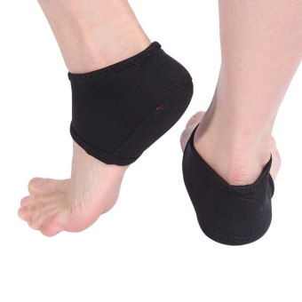 1 Pair Plantar Fasciitis Foot Pain Relief Sleeve Wrap Ankle CareSupport Heel Protective Socks - intl
