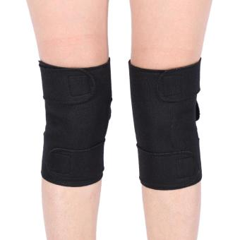 1 Pair Tourmaline Self-heating kneepad Magnetic Therapy KneeArthritis Brace Support - intl - 3
