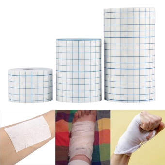 1 Roll Professional Non-woven Adhesive Wound Dressing Medical Fixation Tape Bandage 5cm * 10m - intl