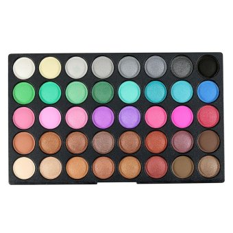 120 Color Eyeshadow Make Up Matte Shimmer Eye Shadows Nudes Palettes Cosmetic Sets Makeup Palette Eye Shadow Beauty Cosmetic - intl - 3