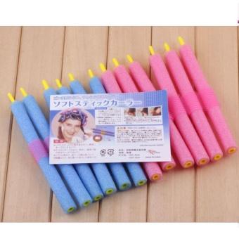12Pcs/Bag Magic Curly Hair Stick Pearl Cotton Beauty Hair Tool Bendy Twist Women - intl - 5