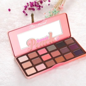 18 Colors Lady Makeup Beauty Sweet Juicy Peach Eye Shadow Collection Palette - intl